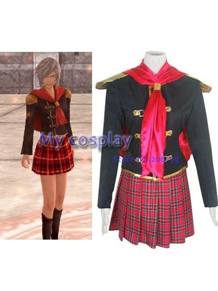 Anime Final Fantasy Cosplay Great Final Fantasy Agito Xiii Female
