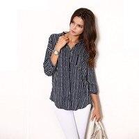 оптовая продажа, новый пос осень зима свободного покроя широкий женская рубашка с отложным коллора стоит, три cheer блузка женск 554