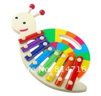 бесплатная доставка мини улитка в форме деревянные музыкальная игрушка