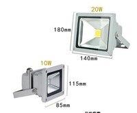 1х водонепроницаемый 10 вт 20 вт 30 вт 50 вт 70 вт 85 - 265 в высокой мощности теплый белый / холодный белый из светодиодов прожектор на открытом воздухе лампы розничная и оптовая продажа