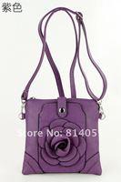 1341, красочные цветы живые дизайн, удобный прочный, опт и розница, искусственная кожа дамы сумка