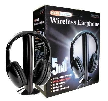 Fm hi-fi wireless headphone инструкция
