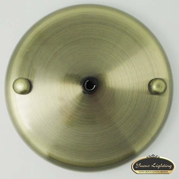 edison bronze ceiling plate