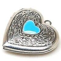 бусины и бисер, тибетский стиль старинное серебро плавающий подвески-талисманы литое сердце подвеска 29 мм молитва подвески-талисманы фото поделки шарм подвеска