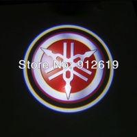 новое продукт! бесплатная доставка! 7 вт в логотип с названием для любого автомобиля, из светодиодов двери свет лазерный проектор лампы для йамах