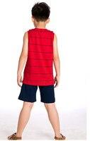 новый стиль бесплатная доставка мальчиков мультфильм Doug устанавливает мода верхней и половина брюки yxz1232