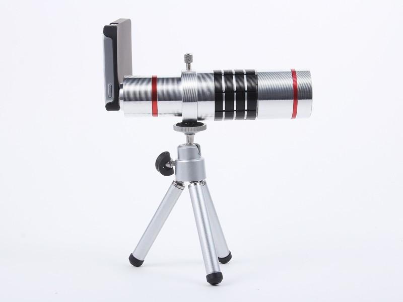 18х зум универсальный объектив телескопа фокусное расстояние объектива камеры для iPhone 5 С и 5 с мобильного телефона с штатив держатель