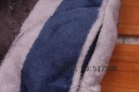 бесплатная доставка и продвижение! специальный ватки бархат пижама ватки бархатной спать вертикальные полосы