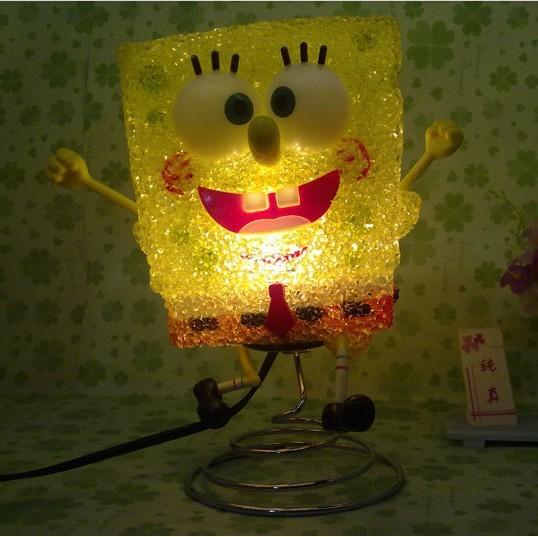 Hot selling SpongeBob SquarePants Cartoon Night Lights,Table Lamp ...
