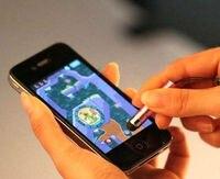 бесплатная доставка мини стилус сенсорный экран ручка с Анти пыли разъем для iPad для iPhone для емкость экран телефона и планшет пк