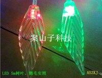 новый! бесплатная доставка 5 м 50 светодиодов цветок из светодиодов фея света на праздник ну вечеринку украшения дома полноцветный