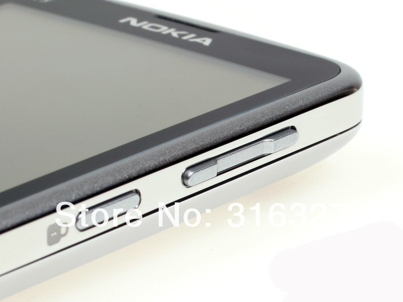 Refurbished phone Nokia C3-01 Touch and type 5MP Wi-Fi FM radio Touchscreen cell phone grey 9