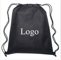 индивидуальные полиэстер сумка с завязками рюкзак сумка с завязками, сумка