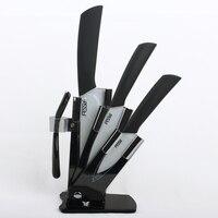 a-набор из 4 шт. Ceramic J 3 дюймов 4 дюймов 6 дюймов нож + один нож блок + зубной набор