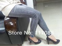 бесплатная доставка ml7544 новое постулат осень-зима для женщин Classic леггинсы для женщин брюки высокая Tale кожа леггинсы для женщин