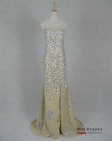 реальный образец! бесплатная доставка Bolt милая длиной до пола Blast выпускного вечера платья / вечерние платья