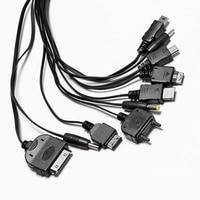 Портативный usb 10 № 1 зарядный кабель multi зарядное кабель, совместимый с широкий спектр цифровая камера КПК сотового телефона mp3 psp