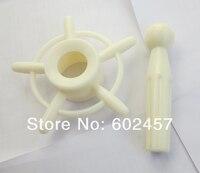 лучшее качество белый цвет учебные головы-манекены ленты держатель подставка держатель с трубкой