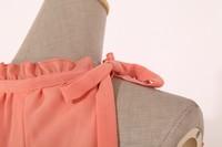 элегантные платье-макси женские широкий рукавов шифон кружева мило макси длинные платья знаменитости платье вечернее бесплатная доставка тИЦ-040