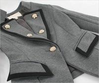 горячая мода свободного покроя уютные женщины дамы одежда пальто куртки костюм пиджаки пр с длинными рукавами г-жа костюм