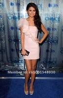 селена гомес светло-розовый короткие ну вечеринку коктеила 2011 человек наград