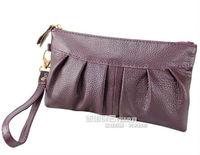 бесплатная доставка новое постулат баул женщин из натуральный кожи цвета конусов сцепления леди сумки