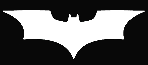 Batman Dark Knight Logo Symbol Car Vinyl Window Decal Sticker On