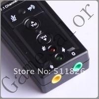 по USB к в 3D аудио звук карта адаптер виртуальный 7.1-канальный 9947