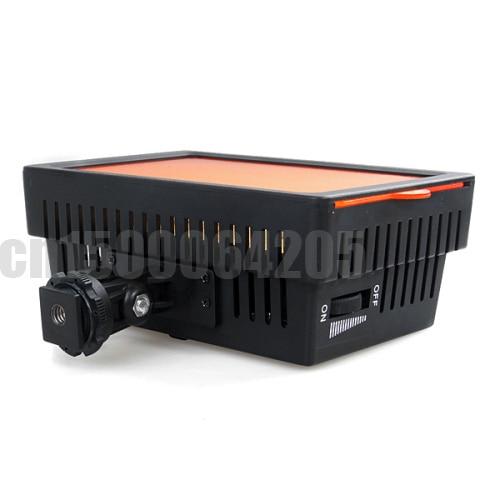 חדש HD-126 אור מנורת LED וידאו מצלמה תאורה עבור Canon Nikon Olympus Pentax DSLR משלוח חינם ברחבי העולם +מספר מעקב