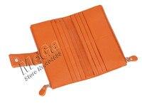 100% из натуральной кожи бумажник женской сумочки мода клатч кошельки большой емкости карты кошельки jj8123