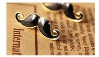 с рождеством христовым! мода ювелирных милый маленький усы усы борода руль серьги стержня уха ну вечеринку fitsweater старинные ювелирные изделия