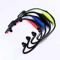 бесплатная доставка спорт громкой связи наушники обернуть вокруг беспроводной четыре цвета ФМ передатчик # 8526