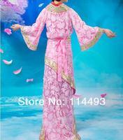 2 * горячая hanfu тан одежда города Tradition платье halt древних костюм платье одежда ну perfemance полива студия ткань