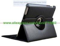 магнитный смарт-чехол кожаный чехол для нового iPad 3 для iPad 2 с 360 градусов вращающийся стенд прямая поставка