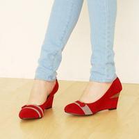 бесплатная доставка 4 цветов мода женщин свободного покроя искусственная cia-Lock женские туфли на размер 34 - 43 прямая поставка