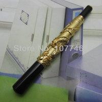 русский цзиньхао авторучка китайский дракон золото тяжелый подарок ручка с обычной porch коробке j1174