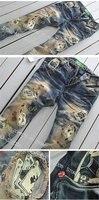 Hits продажи новых олицетворяет покер laberling бренд мужские джинсы / новинка мужчины джинсы брюки брюки