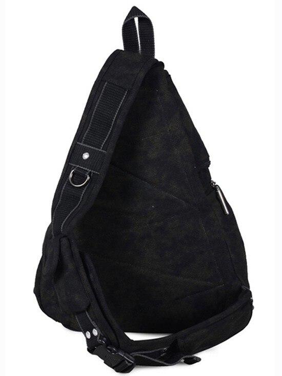 a94e86088a 1pc Brand high quality canvas sling bag messenger bags Black Army ...
