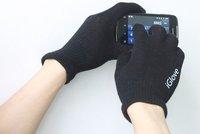 200 пар многоцелевой мужская iglove емкостный экран перчатки для iPhone и для iPad и для смартфона iPhone 5 и линии передачи данных 1 шт