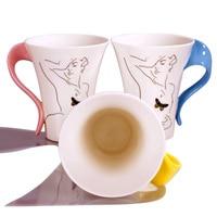 новый керамический керамический bandeaus кружка любителей кружка молоко завтрак творческий кружка m013