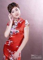 низкая - прибыль Seal китайский стиль шелк женщины платье платье подружки невесты мини чонг - Sam с fangle