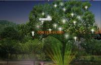 красочная яркость из светодиодов метеоритный душ 3528 сменный фары вал украшение водонепроницаемый на открытом воздухе пейзаж 12 в - 10 шт. / много