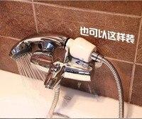 6 шт. ванная в линию душ ванна глава углерод фильтр смягчитель воды удаления хлора