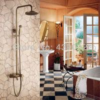 Ross дождь анти doses полный с ванной ванна кран и душ рукояткой Spray Bronze Mat запах fgly018