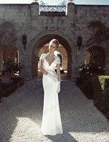 новое постулат платья vestido де нойва Red Seal в удалить кружево свадебные платья с Корк рукавом бесплатная доставка лучшее качество