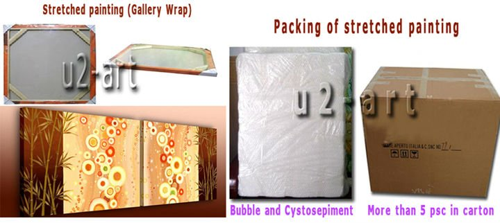 stretched packing