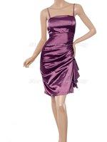 he03017pp бесплатная доставка так фиолетовый атлас коктейль платье