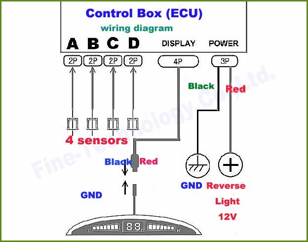432535438_836 parking control unit security safety (mk4 mondeo) talkford com wiring diagram for rear parking sensors at webbmarketing.co