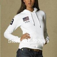 бесплатная доставка мода 3 цветов женская спортивный с длинными рукавами поло толстовка новый s-хl размер поло толстовка 1 шт. бесплатная