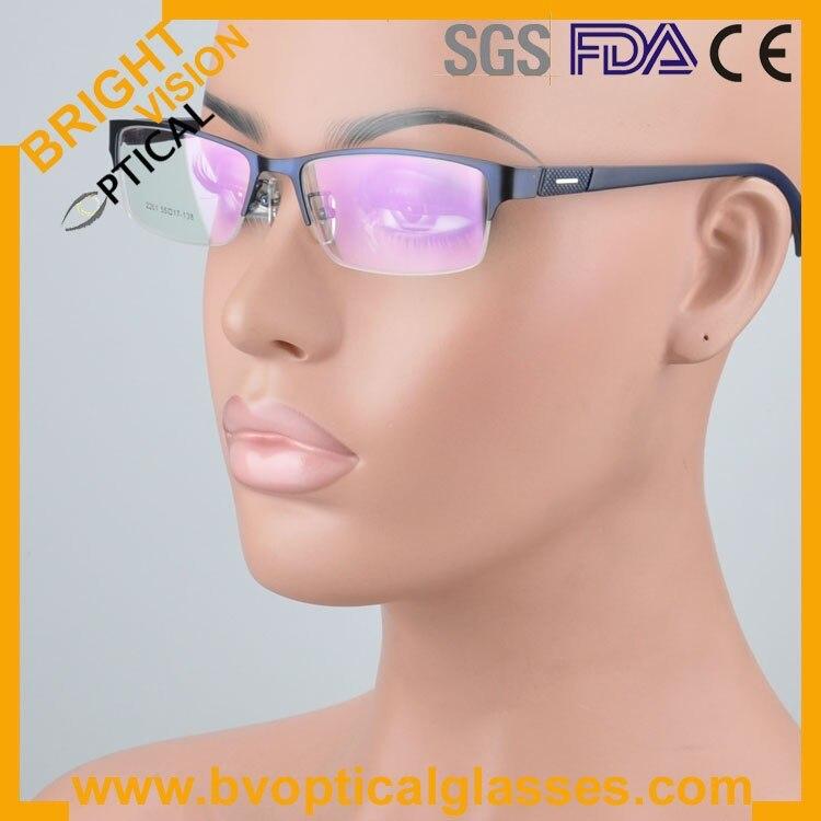 New model delicate half rim metal optical frames glasses2261lan